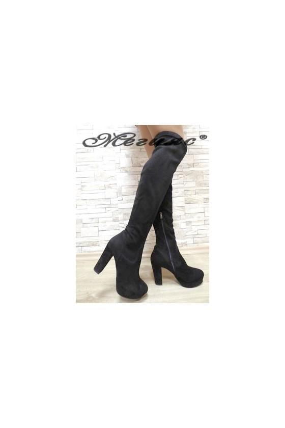 160-01 Women long boots...