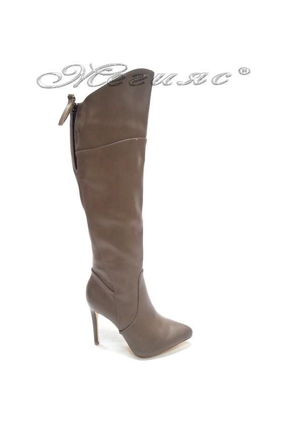 lady boots Ekai 15-390   taupe