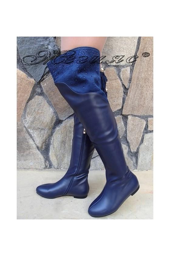 Lady boots Christine 20W17-261 blue pu