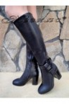 Lady boots Christine 20W18-334 black pu