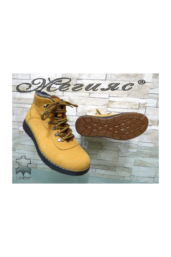 510-2 Men's boots yellow leather