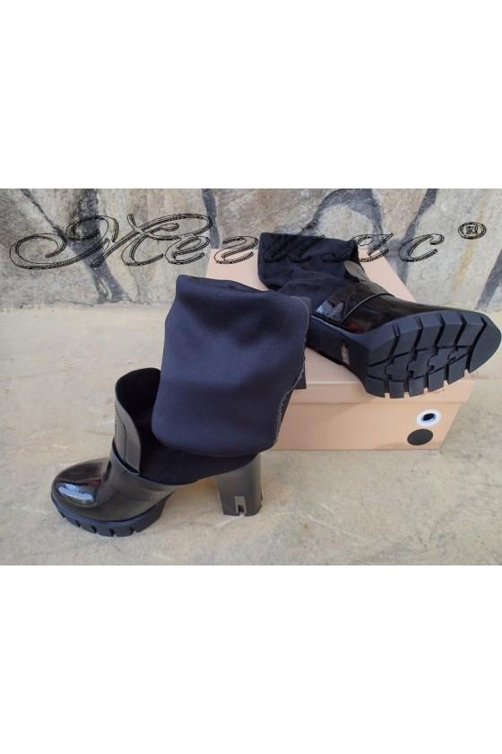 Lady boots Carol 20W18-2039 black suede