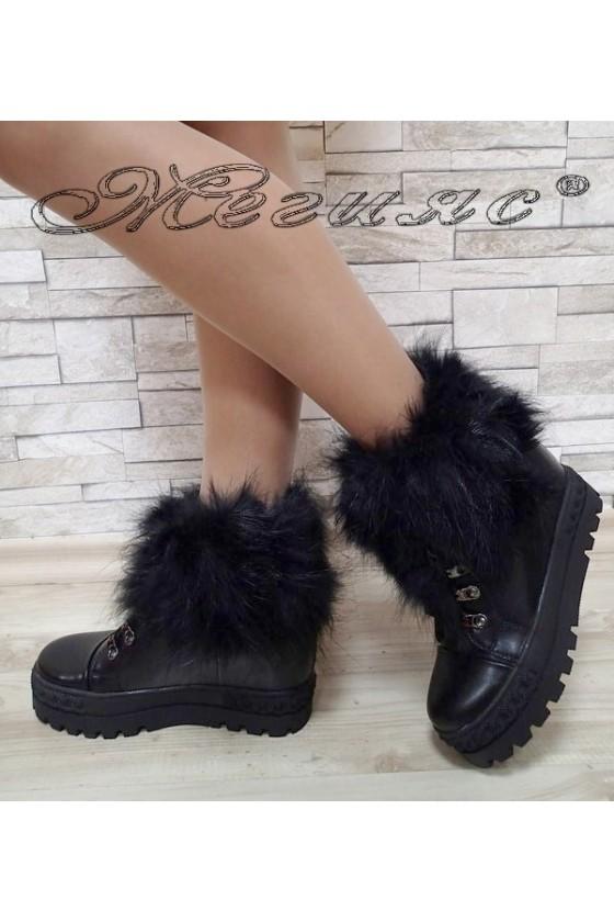 Lady boots Carol 2017-196 black