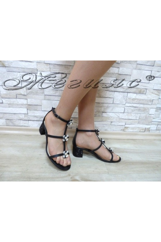 Lady sandals Jeniffer 18s20-117 black
