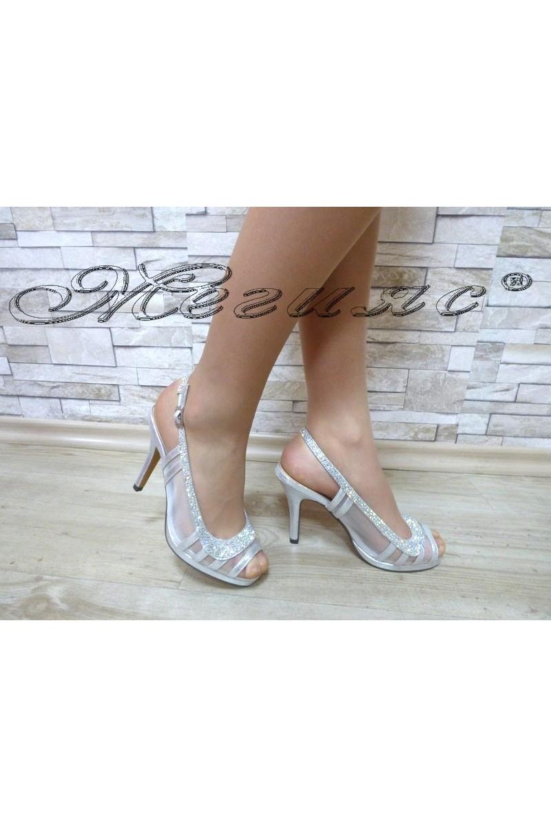 Lady sandals Jeniffer 18s20-129 silver