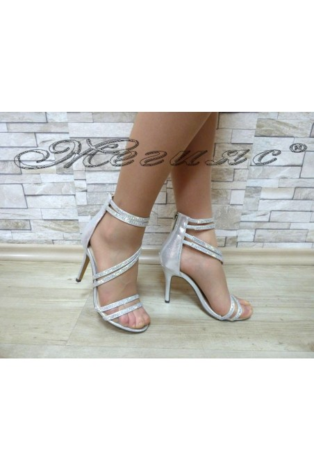Lady sandals Jeniffer 18s20-126 silver