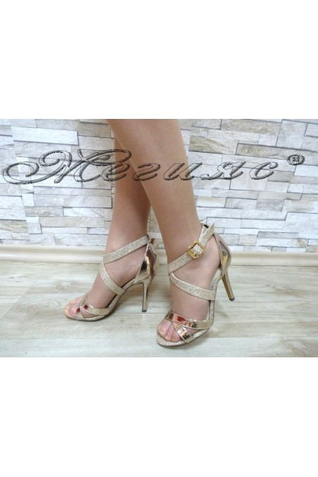 Lady sandals Jeniffer 18s20-120 gold