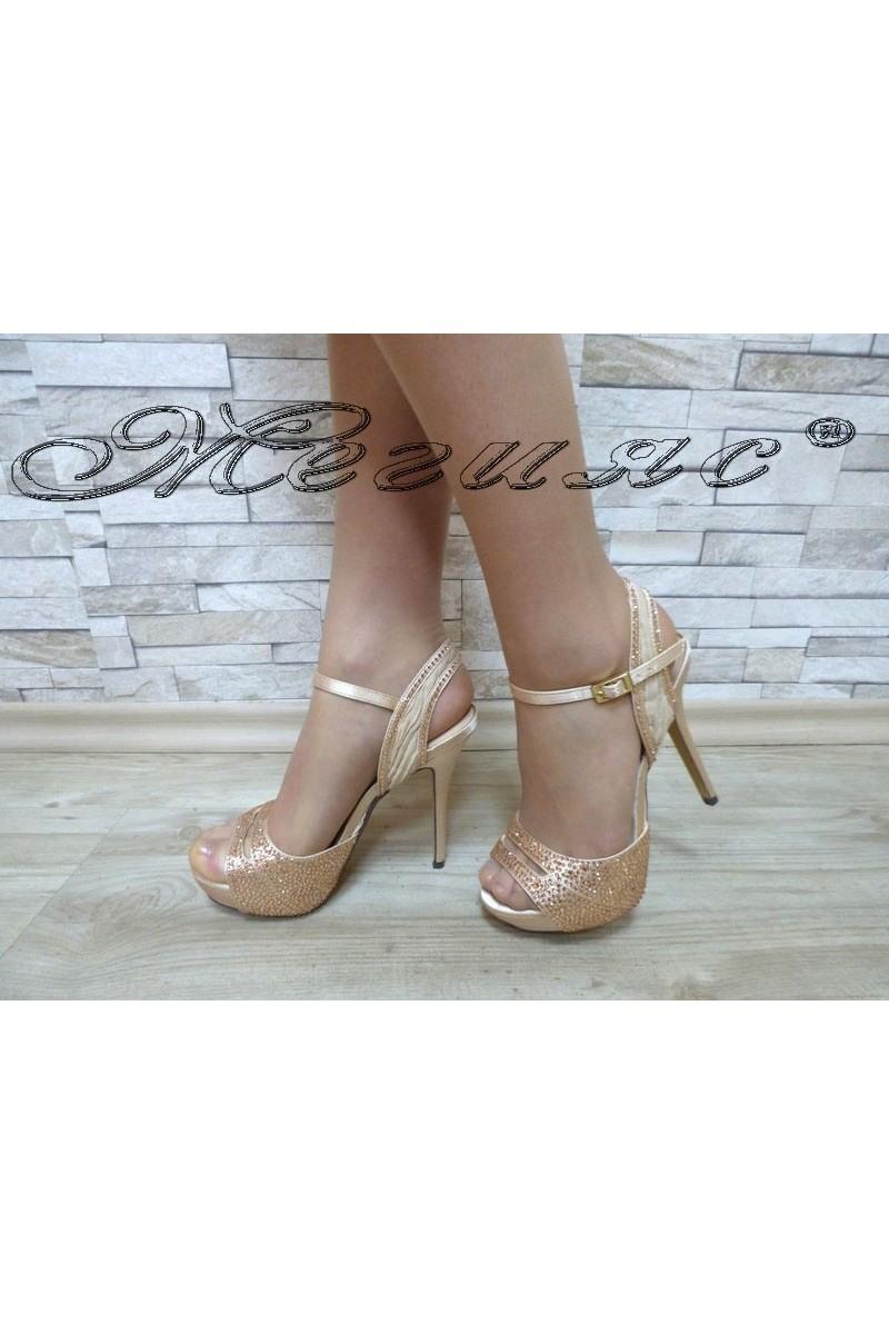Lady sandals Jeniffer 18s20-57 nude