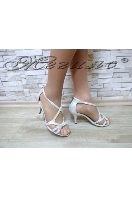 Lady sandals Jeniffer 18s20-114 silver