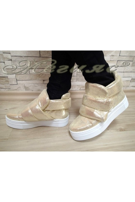 Lady sport boots 3715 gold