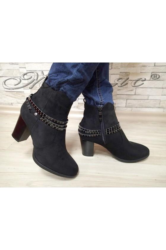 Lady boots 20W17-282 black