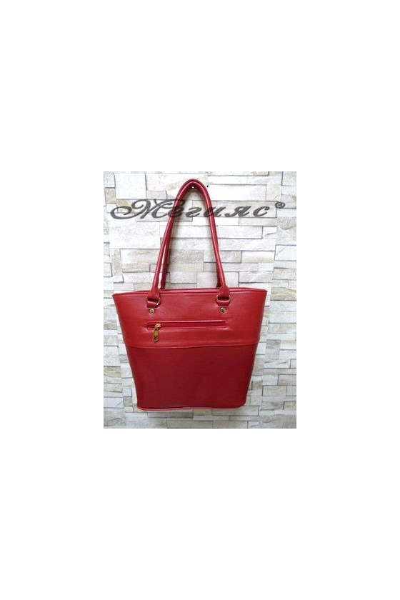 294 Lady bag red pu