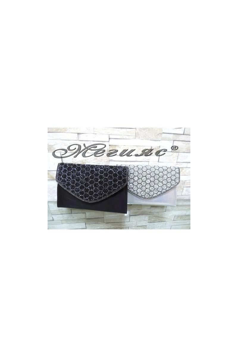 499/427 Дамска официална чанта с декорация брокат