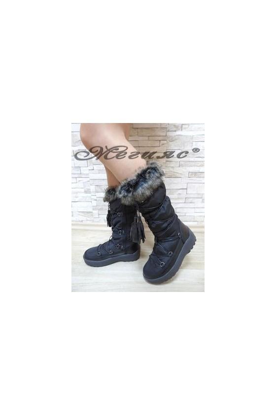 19-1307 Women boots black