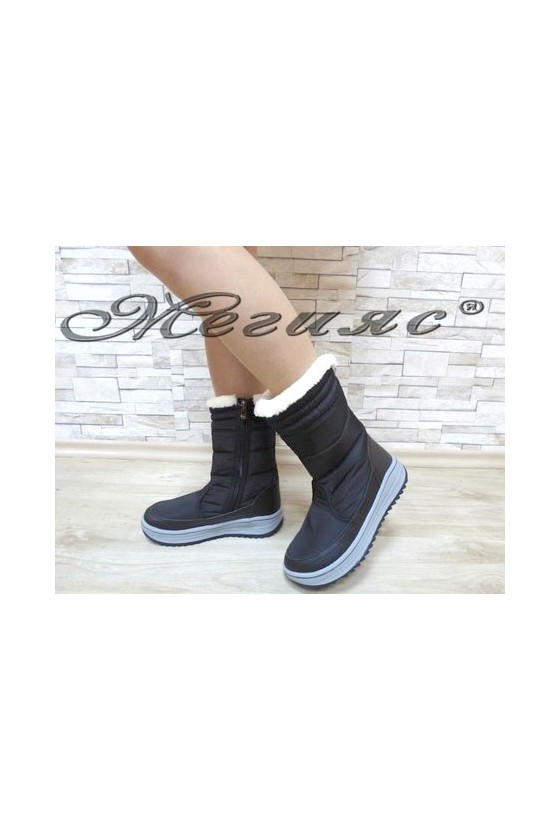 19-1313 Lady boots black