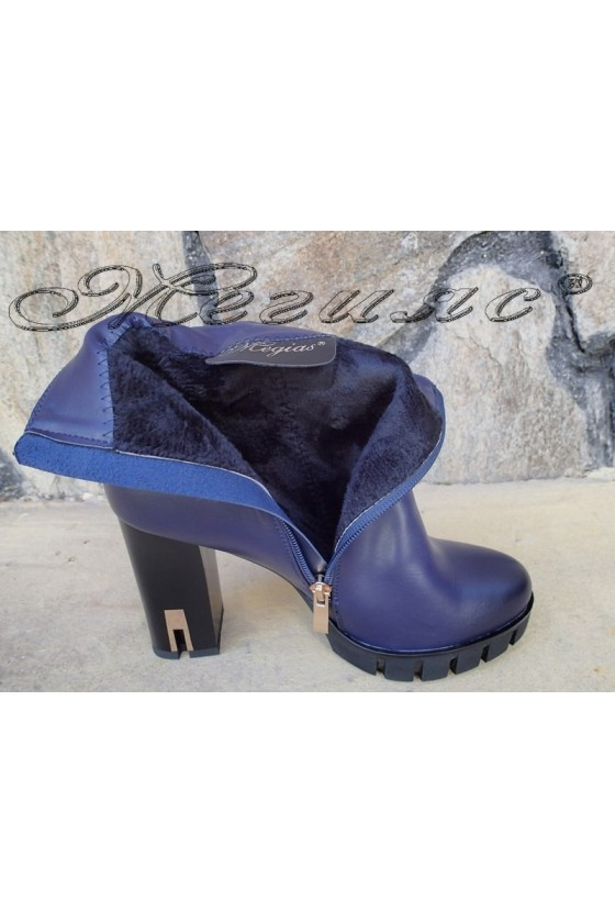 Women boots Christine 20W17-260 blue pu