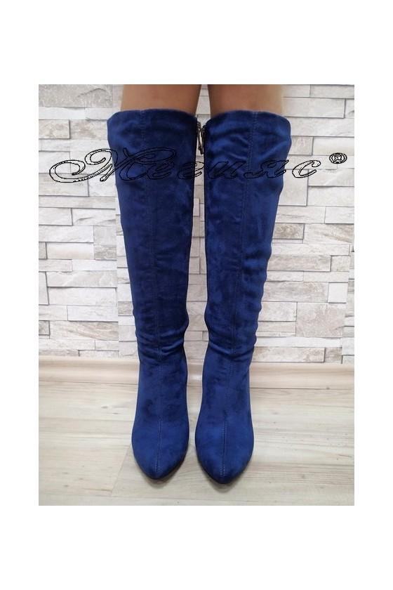 Lady boots Christine 20W17-214 blue