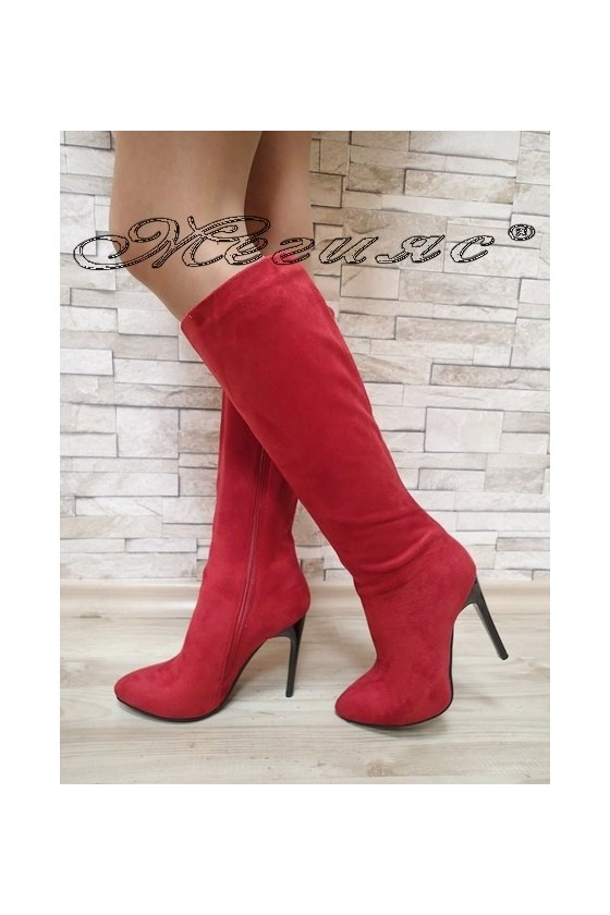 Lady boots Christine 20W17-214 red