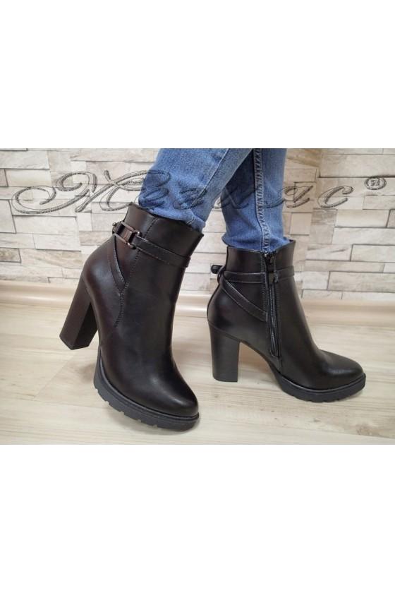 Lady boots  AMY 20W17-290  black pu
