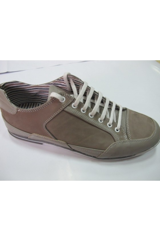 Мъжки обувки 0211 бежови набук