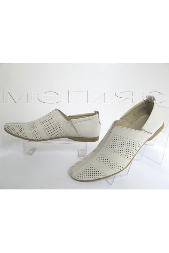 Men's shoes 51-75 beige leather
