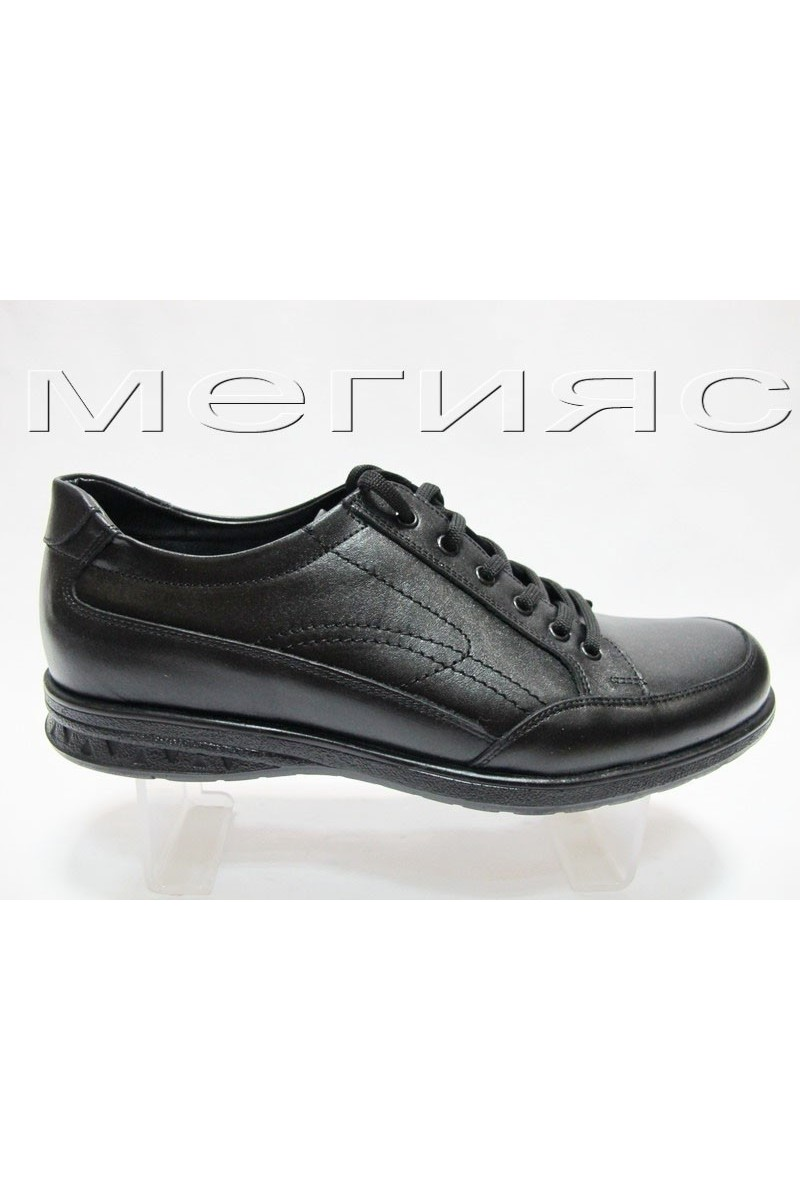 Мъжки обувки Фантазия 902 черни естествена кожа