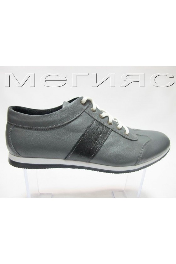 myj.ob.910 grey+ black estestvena koja
