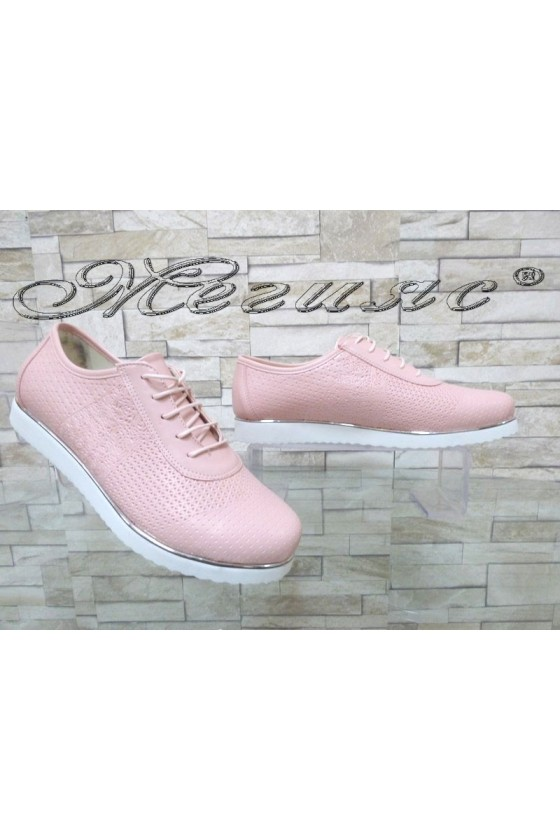 Lady  shoes 0020 pink pu