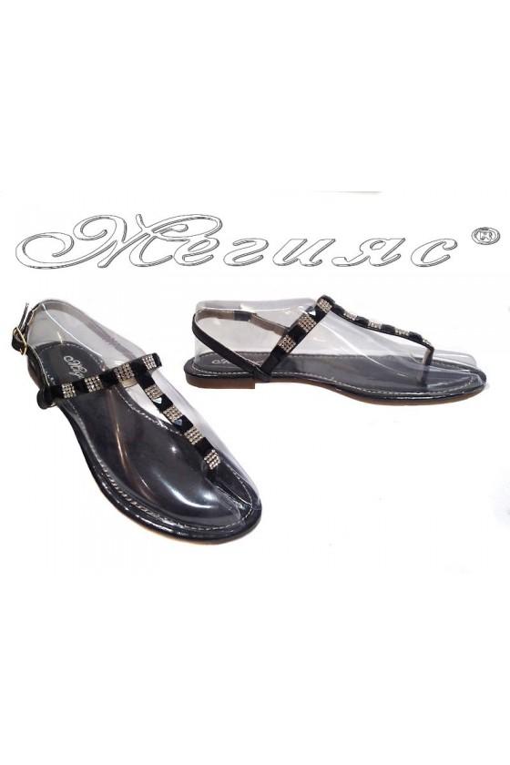 Дамски сандали Grace 114-7 черни