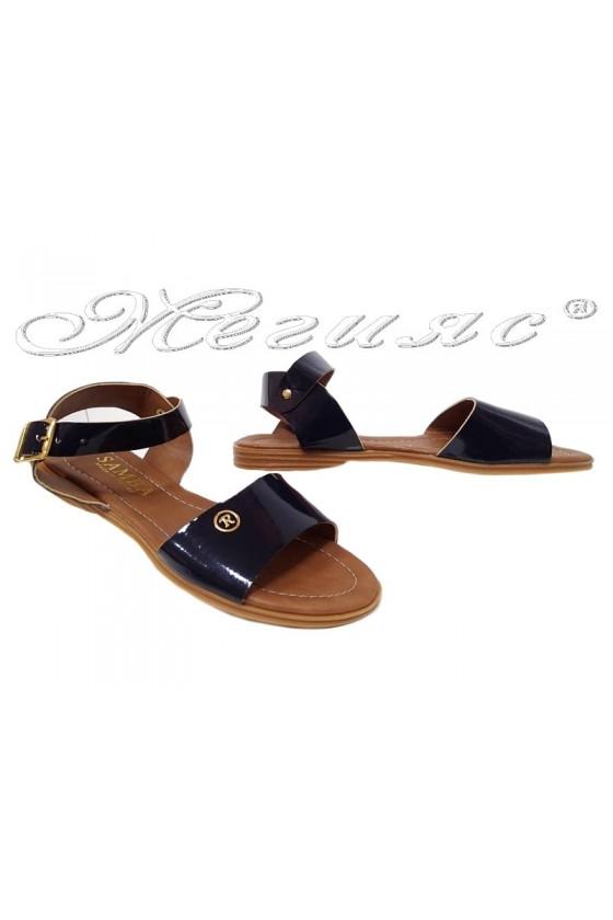 Lady sandals 042 blue
