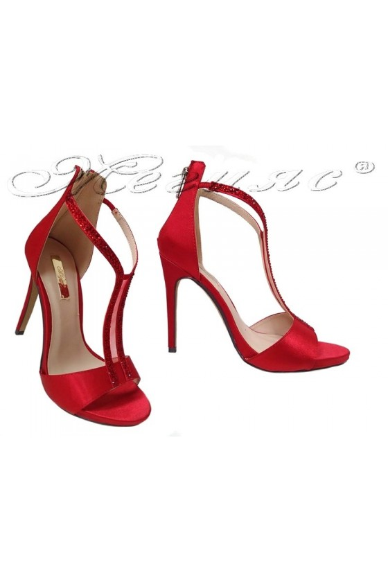 lady shoes 2016-236 red