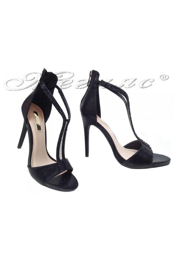 Lady shoes 2016-236 black