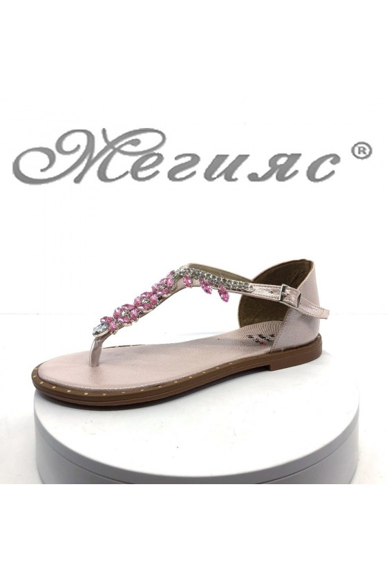 Lady sandals 171 pink pu
