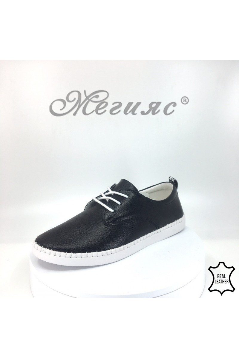 Women shoes FENG 18s-20-201 black leather