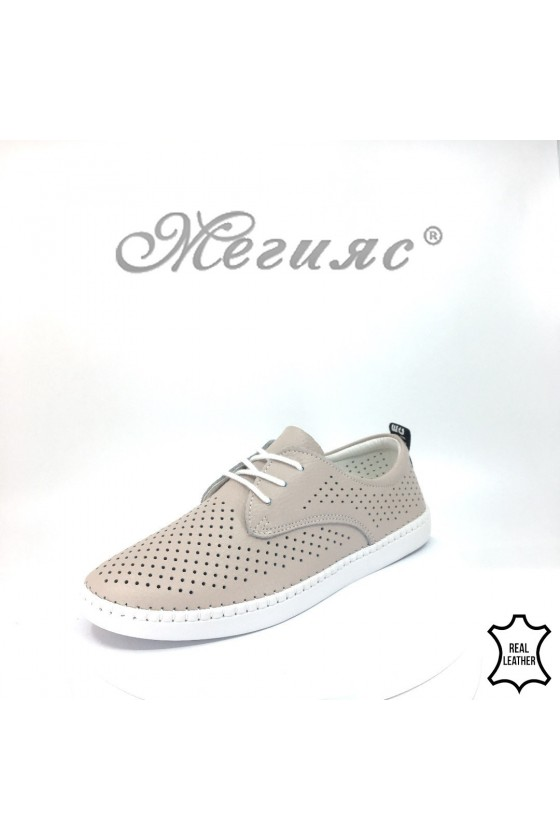 Women shoes FENG 18s-20-203 nude leather