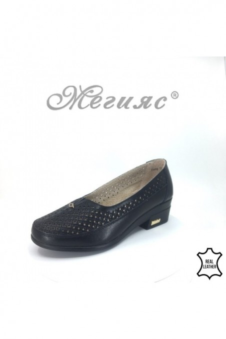 Lady shoes FENG 18s-20-220/1720-267 black leather