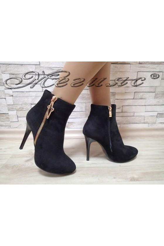 Lady boots  SUN 20W17-25 black suede