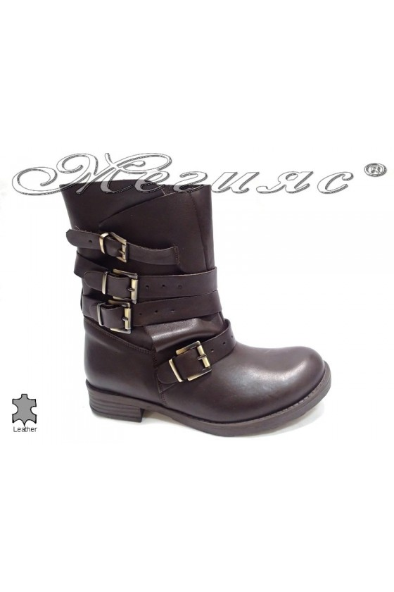 lady boots 1737 brown
