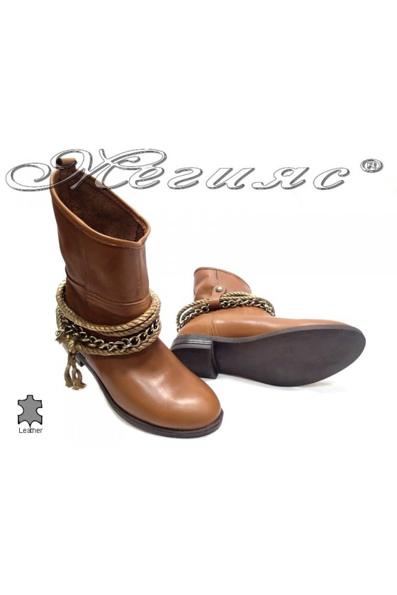 lady boots 1605 brown