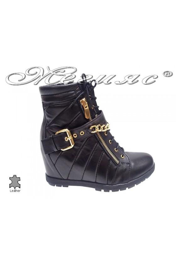 lady boots  8572  black