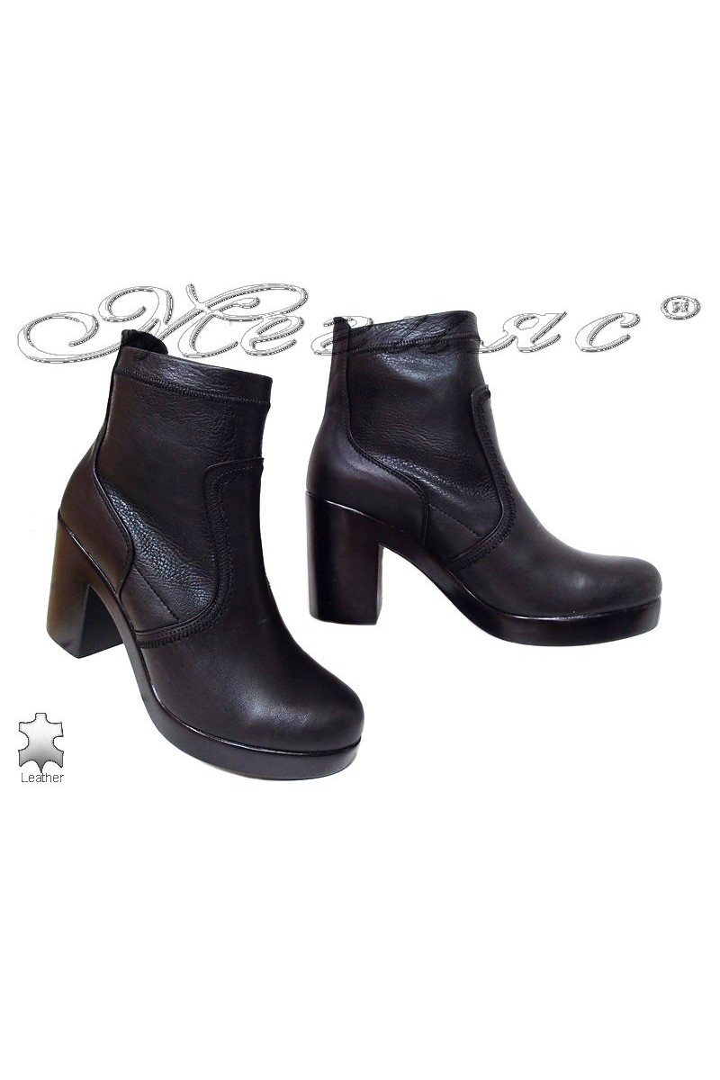 Lady boots 1710 black leather