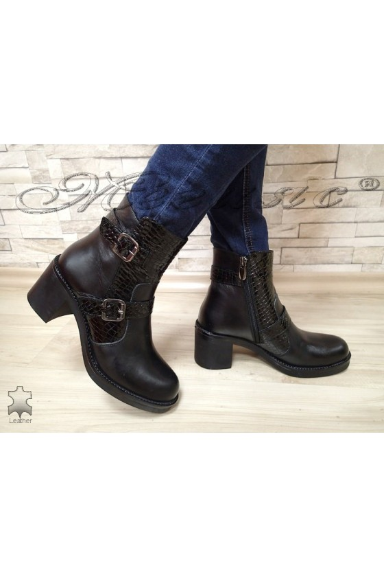 Lady boots 2018 black leather