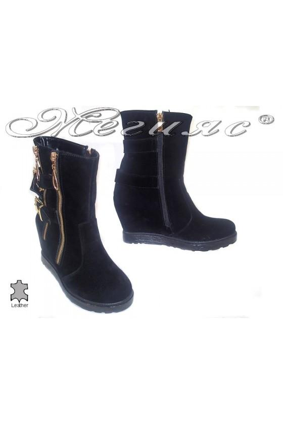 lady boots 333 black