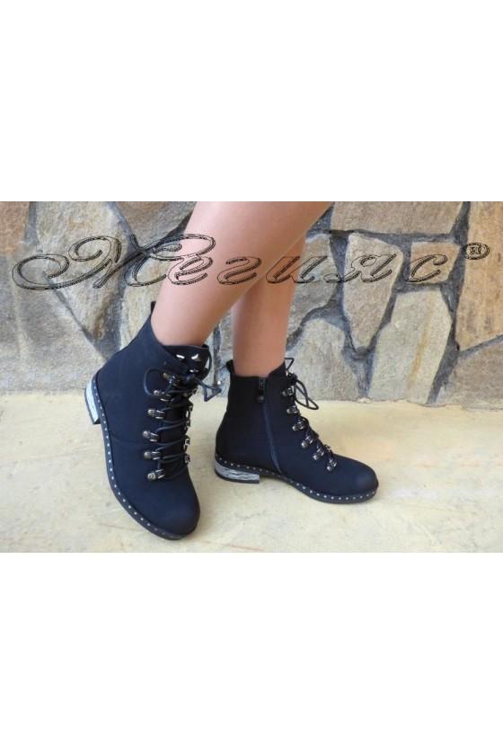 Women boots CASSIE 19-1487 black pu