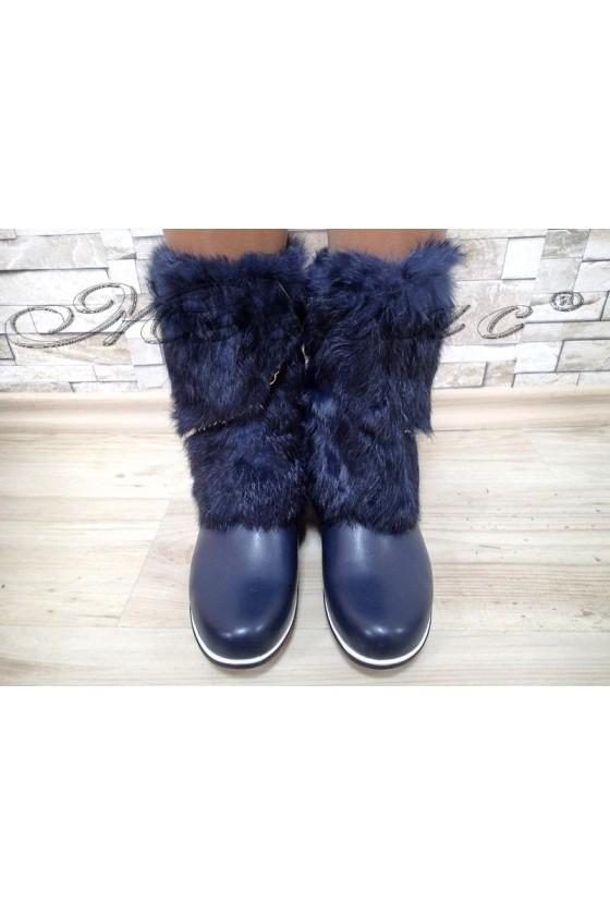 Lady boots Carol 20W17-100 blue