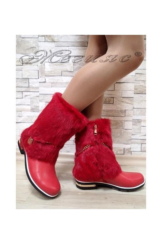 Lady boots Carol 20W17-100 red