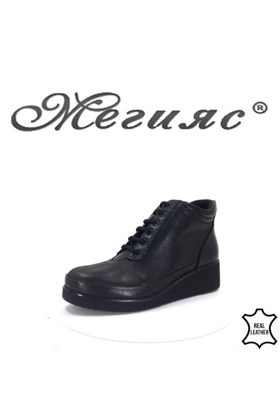 1019 Lady boots  black leather