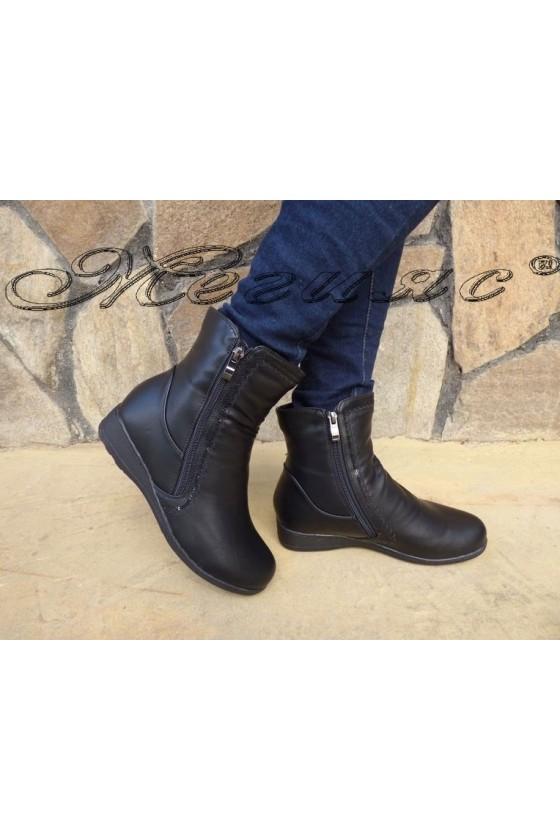 VENUS 19-1662 Women boots black pu