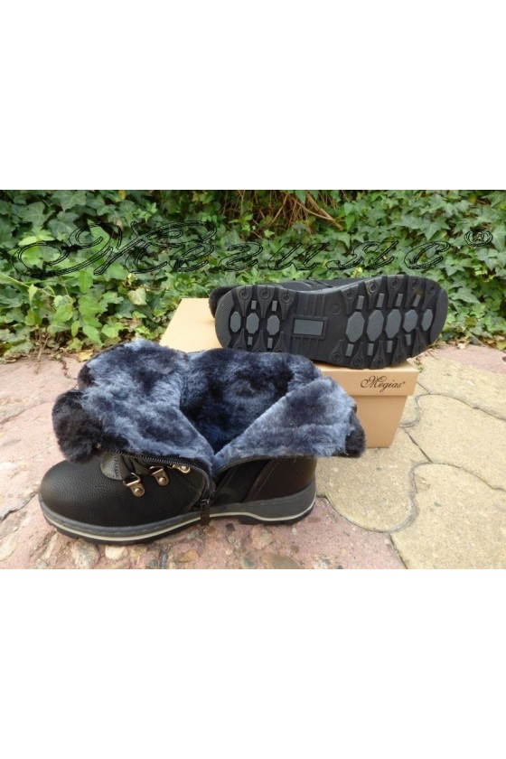 VENUS 19-1651 Women boots black pu
