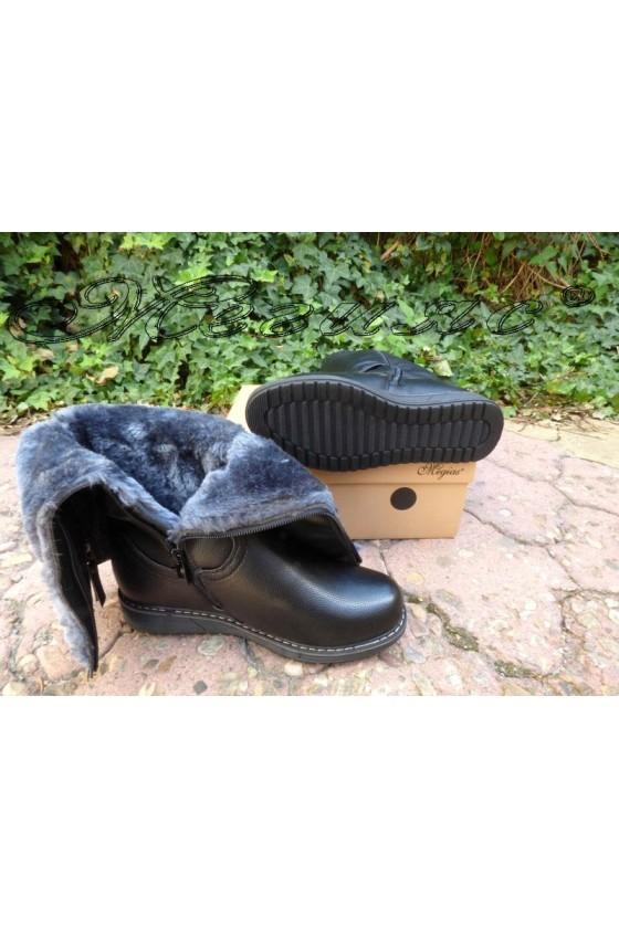 VENUS 19-1655 Women boots black pu